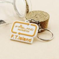 Ftisland logo mark of keychain