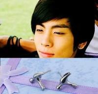 Star accessories shinee key black aprince cavatappi stud earring earrings