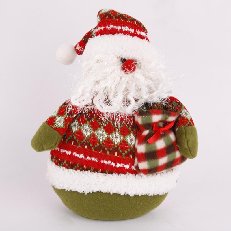 Christmas decoration supplies gift christmas tree 41cm sandbagged doll 070(China (Mainland))