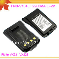 10pcs/lot freeshipping free FNB-V104L FNB V104LI FNBV104L for intercom VX231 VX228 2200mAh Li-ion rechargeable battery cell
