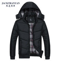 2013 Men casual wadded jacket Men thickening winter men's clothing outerwear big size cotton-padded jacket size:L~4XL