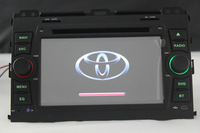 3G USB Host Car DVD For 2002-2009 Toyota Land Cruiser Prado 120 built in GPS Ipod rds radio audio player system Free shipping