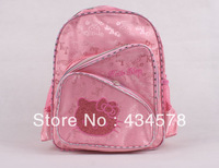 2013 whole sale/retail girl's backpack for school,children's backpacks,shoulder bag child baby with free shipping