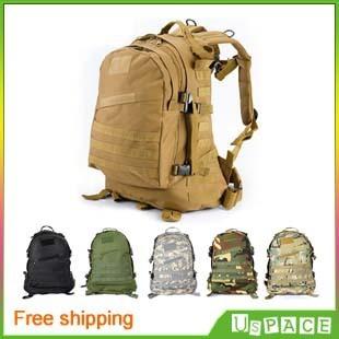 3D Outdoor MOLLE Military Tactical backpack shoulders assault backpack outdoor mountaineering bags men&women outdoor backpack