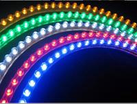 Flexible Car Truck Motorbike Motor Decoration Strip Light Waterproof 96 LED Lamp 96CM Noen Lighting Many Colors