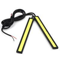 2pcs 12V 0.33 A LED COB Car Auto DRL Driving Daytime Running Lamp Fog Light Promotion