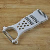 Four Function Fruit And Vegetable Peeler Multifunctional Mini Shredder Shred Device Paring Knife