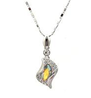 Sales Austrian crystal element necklace AB color Shape X0004-500