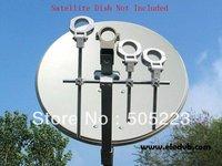 Free shipping,good quanlityLNB Bracket, LNB holder ,hold up to 4 ku band LNB