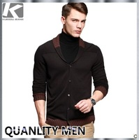 Fashion Stylish Men's Brand Cotton Spring&Autumn Sweater, Casual Thin Knitted Long Sweater For Men, Free Chian Post Shipping