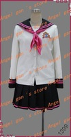 Free shipping New Arrival Custom made Brothers Conflict Ema Hinata cosplay costume