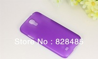 For Samsung Galaxy S4 SIV i9500 Clear Ultra Thin Matte Slim Hard Back Case Transparent Cover Cases