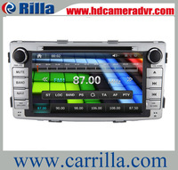 6.95 inch Car DVD Built-in GPS Navigation Stereo Navigation Radio for Toyota Hilux with 4G MAP CARD 8621