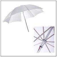"2pcs 33"" Photograph Video Studio Flash Lighting Soft White Umbrella Translucent"