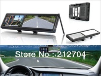 rear view mirror gps bluetooth  monitor 4.3 inch 4GB the latest maps with AV-IN
