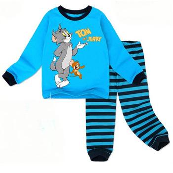 Retail free shipping 2013 new 100% cotton set  baby pajamas of the children leopard pyjamas kids baby clothing 2 pcs set  ATZ010