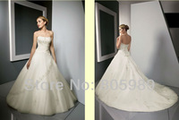 Free shipping best selling 100% Guarantee 2013 Wedding Dresses any size/color wedding dressWD910
