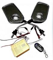 Alarm motorcycle alarm mp3 audio anti-theft rearview mirror