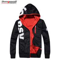 free shipping Bongo 2013 Men male autumn outerwear with a hood slim fashion sweatshirt 1.0
