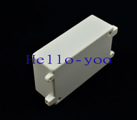 Free shipping  5pcs/lot  Electronic Case 100*63*36mm (L*W*H) Diy White Plastic Project Box