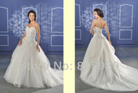 Free shipping best selling 100% Guarantee 2013 Wedding Dresses any size/color wedding dressWD916