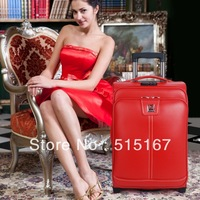 Dx . polo trolley luggage & travel bags on wheel luggage leather bags  free shipping