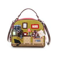 2013 autumn women's handbag fashion sweet casual handbag messenger bag personality small bag