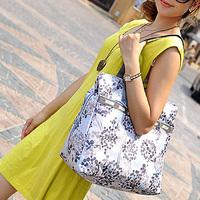large capacity multi-layer bags double handle fashion handbag women's shoulder bag fashion female big shopping bags