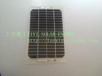5 w PET half flexible solar panels / 12 v battery solar charger