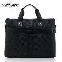 Vl business bag genuine leather man bag leather bag handbag cross-body bags briefcase laptop bag fashion bag