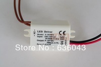 10pcs Free shipping white shell constant current led power supply for 3-5*1w 3w 5w 4w led ceiling lights lamps led parts