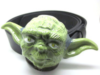 3D STAR WARS YODA belt  Buckle with Free belt , Free shipping worldwide
