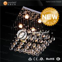2014 Hot Sale Top Fashion Crystal Down >7 Ccc Lustres De Cristal Lustres De Teto Pendant Lamp Lamps L40x40 H52cm Om88046/400