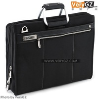 2014 HOTSwiss Black design luxury travel bag men shoulder bag messenger bag  portable laptop bag