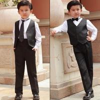 2014 spring new Child vest suit/boy suit/ flower boys formal suit/boy's costume