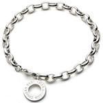 Thomas silver bracelet 1 - 3 pendant
