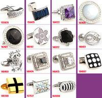 WHOSALE  cuff links for mens 40pcs/lot Novelty Cufflink wedding CufflinkS fashion Cuff link Can be mixed batch