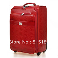 """luggage & travel bags suitcase for travel crocodile pattern luggages  20"""""""