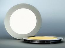 Free shipping 6pcs round LED Panel Light 3W AC 96-265V 85mm 270lumen smd 2835 led ceiling light down light warm white/cool white(China (Mainland))