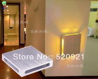 1W aluminum Led bedside wall lamp modern brief bar decoration multicolour light Living room lamp LED stair light LED aisle light
