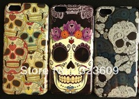 1PCS free shipping New arrivals New products High quality Fashion Skull Bone Hard Case for iphone 5C