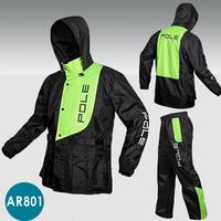 Outdoor sports Wind-resistant jacket motorbike raincoat motorcycle raincoat suit motorcross rain clothing suit waterproof