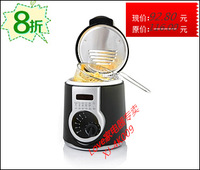 Etam xj-4k009 1.0l household mini electric deep fryer thermostat french fries fried chicken frying pan