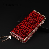 genuine leather long wallet high quality wallets women  female red purse brand women's purses designer brand for ladies