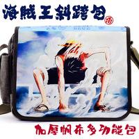 Messenger bag school bag canvas bag shoulder bag casual bag luffy 2