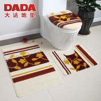 Dada da5219a series three piece set toilet cover doormat pad