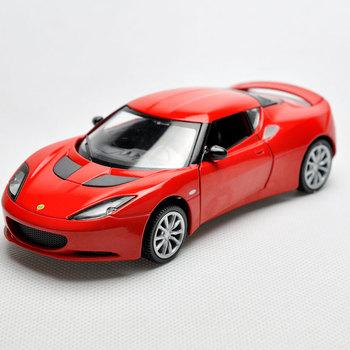 Alloy car model WARRIOR toys lotus evora