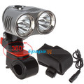 Securitylng Waterproof 2400 Lumen 2 x CREE XML T6 LED Front Bicycle Light Bike Lamp + Battery Pack + 360 Degree Adjustable Base