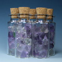 11ml bruiachite glass wishing bottle birthday gift adrift bottle star bottle glass bottle stone