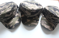 hat new Cool Men's Outdoor camouflage cap Baseball cap Sunscreen octagonal cap Fishing cap